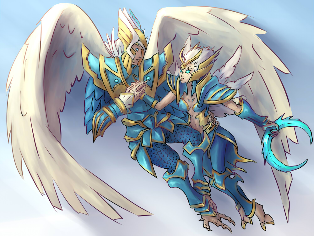 Vengeful Spirit (DotA 2) coloring #17, Download drawings