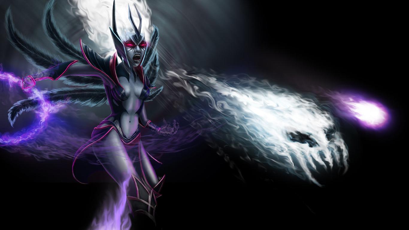 Vengeful Spirit (DotA 2) coloring #1, Download drawings