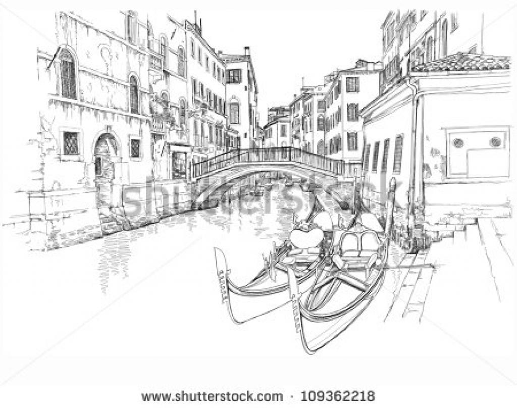 Venice coloring #3, Download drawings