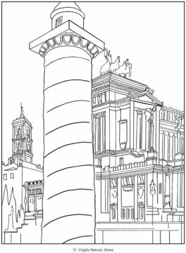 Venice coloring #13, Download drawings