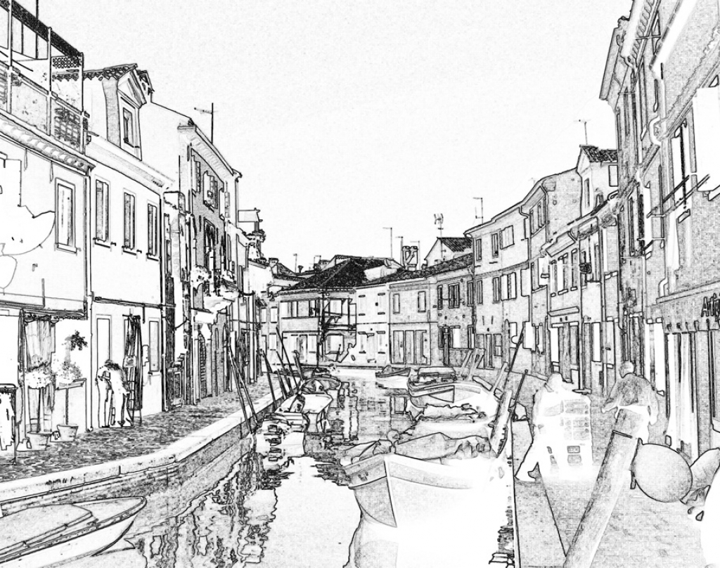 Venice coloring #16, Download drawings