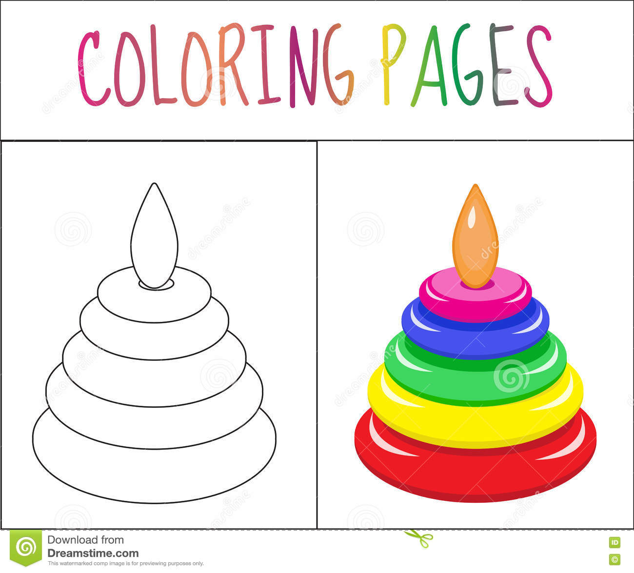 Version coloring #9, Download drawings