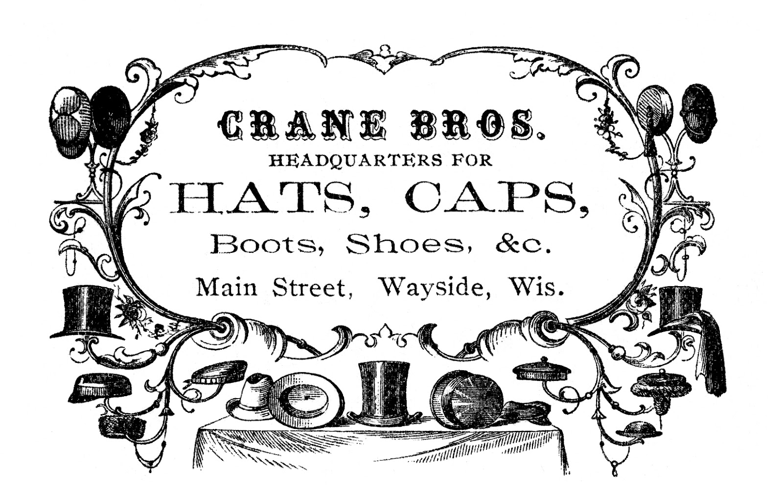 Victorian clipart #12, Download drawings