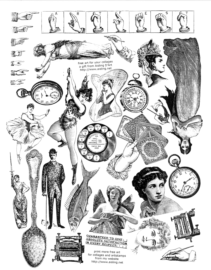 Victorian clipart #2, Download drawings