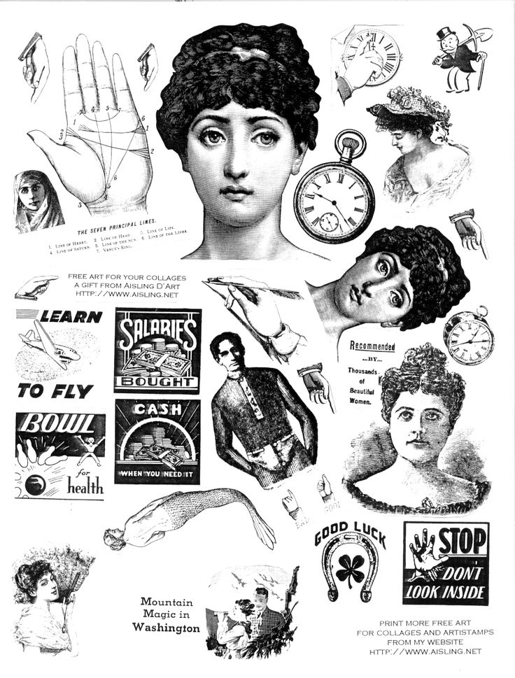 Vintage clipart #19, Download drawings