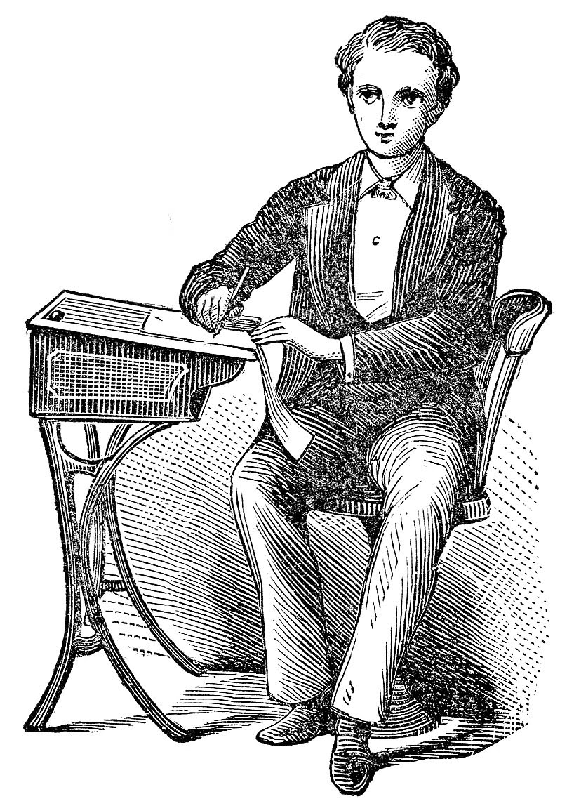 Victorian clipart #3, Download drawings