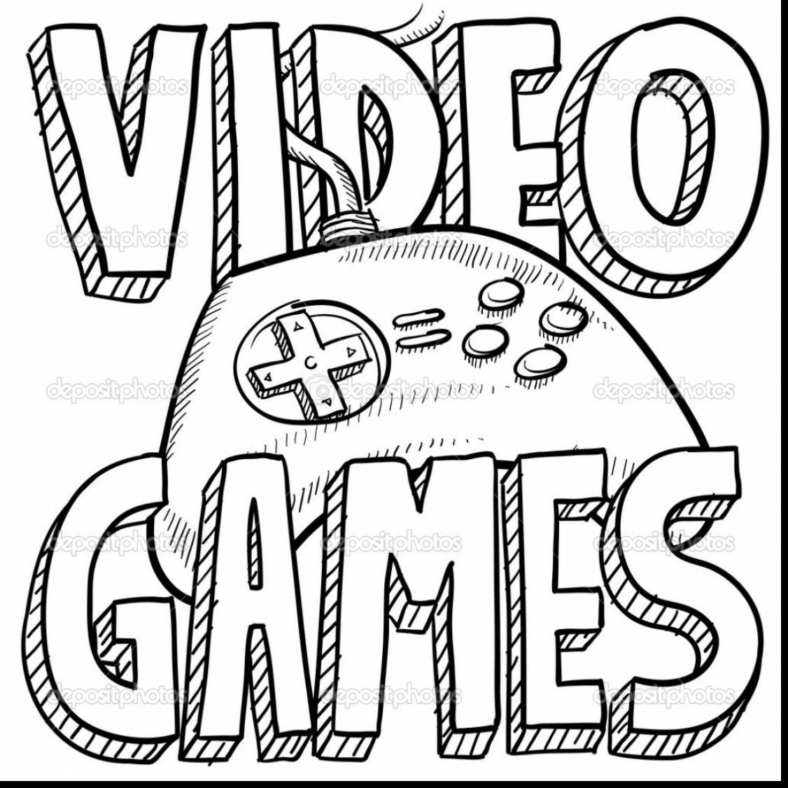 Video Game coloring #19, Download drawings