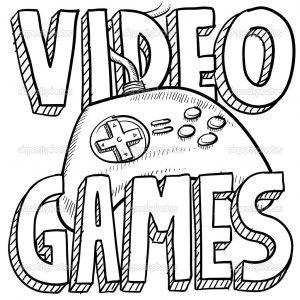 Video Game coloring #9, Download drawings