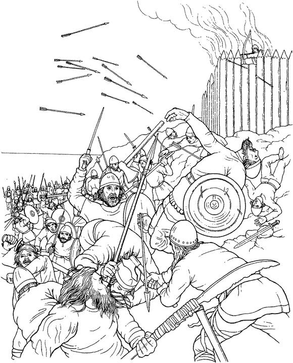 Viking coloring #7, Download drawings