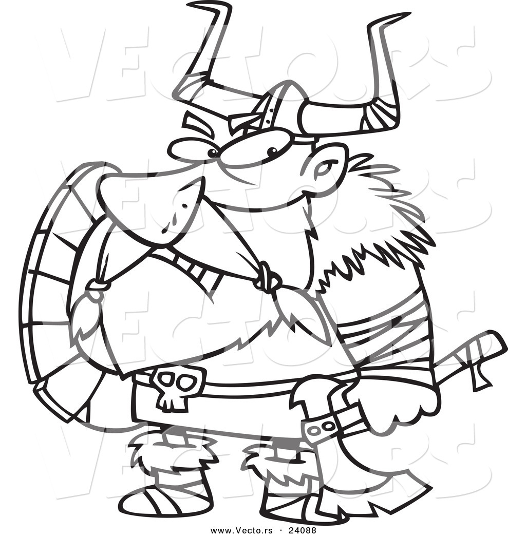 Viking coloring #4, Download drawings