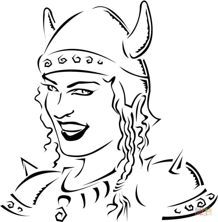 Viking coloring #6, Download drawings