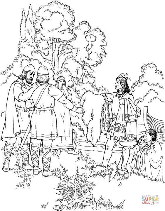 Viking coloring #16, Download drawings