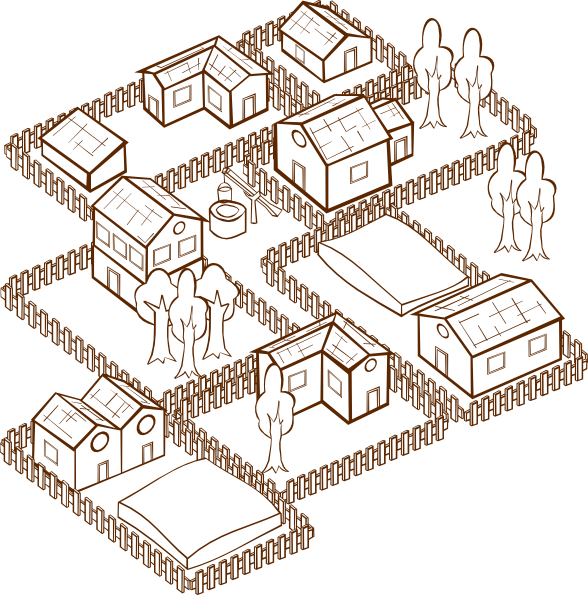Village clipart #7, Download drawings