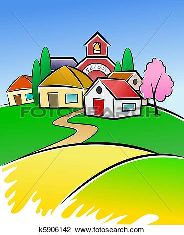 Village clipart #12, Download drawings