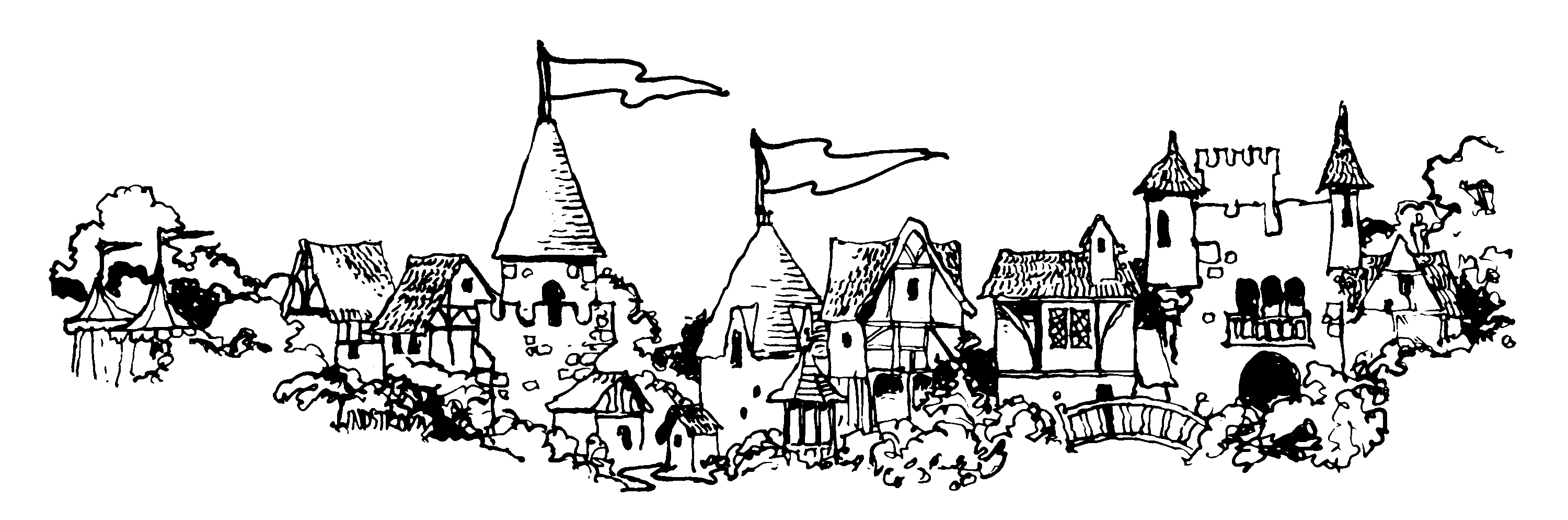 Village clipart #5, Download drawings