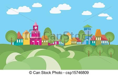 Village clipart #6, Download drawings