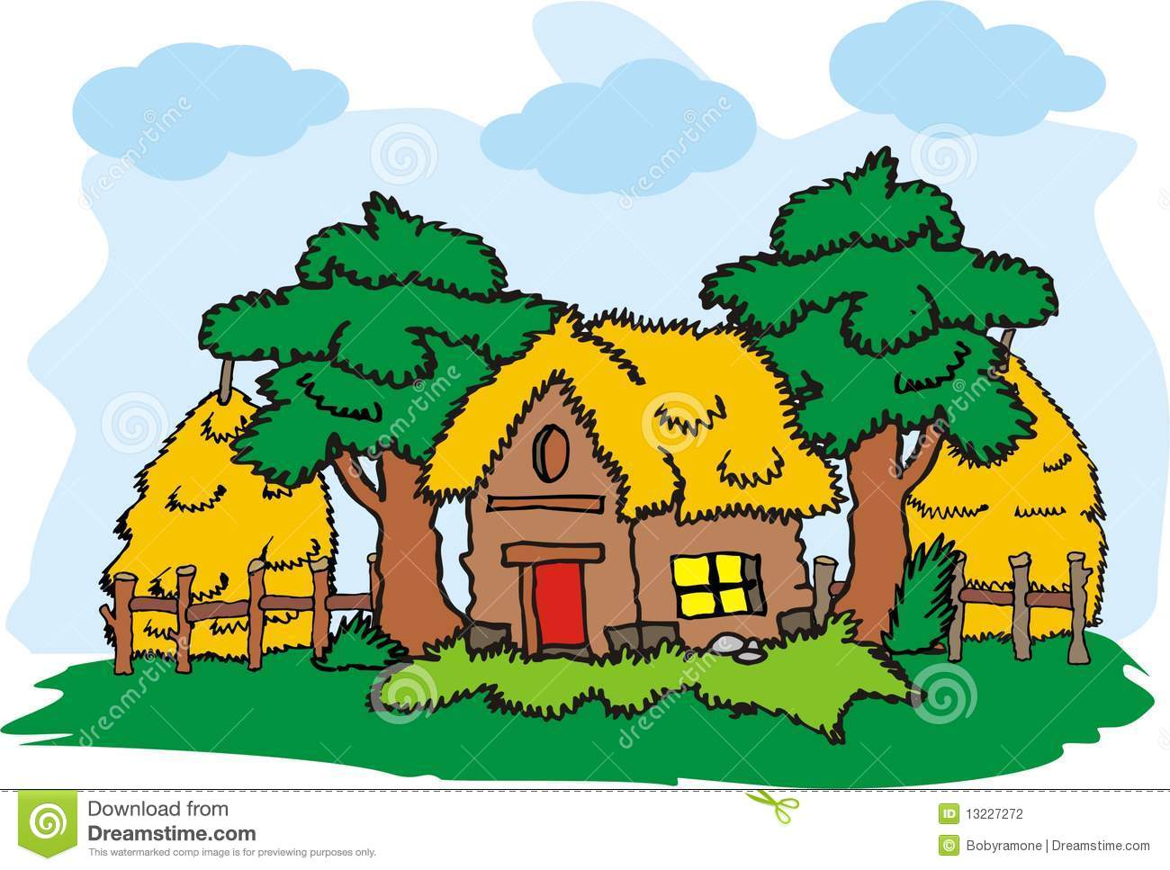 Village clipart #11, Download drawings
