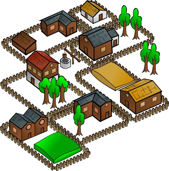 Village clipart #18, Download drawings