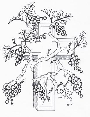Vine coloring #13, Download drawings