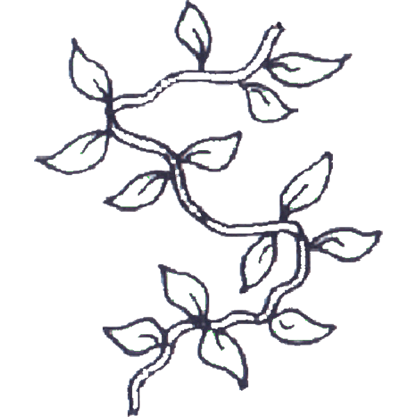 Vines coloring #3, Download drawings