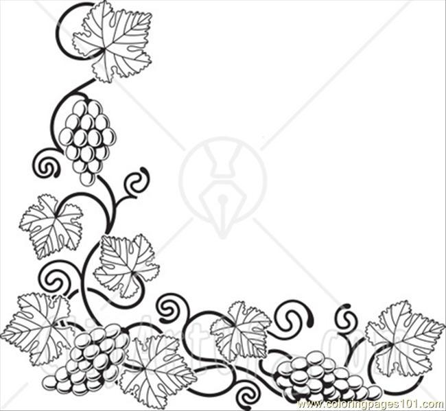 Vines coloring #20, Download drawings