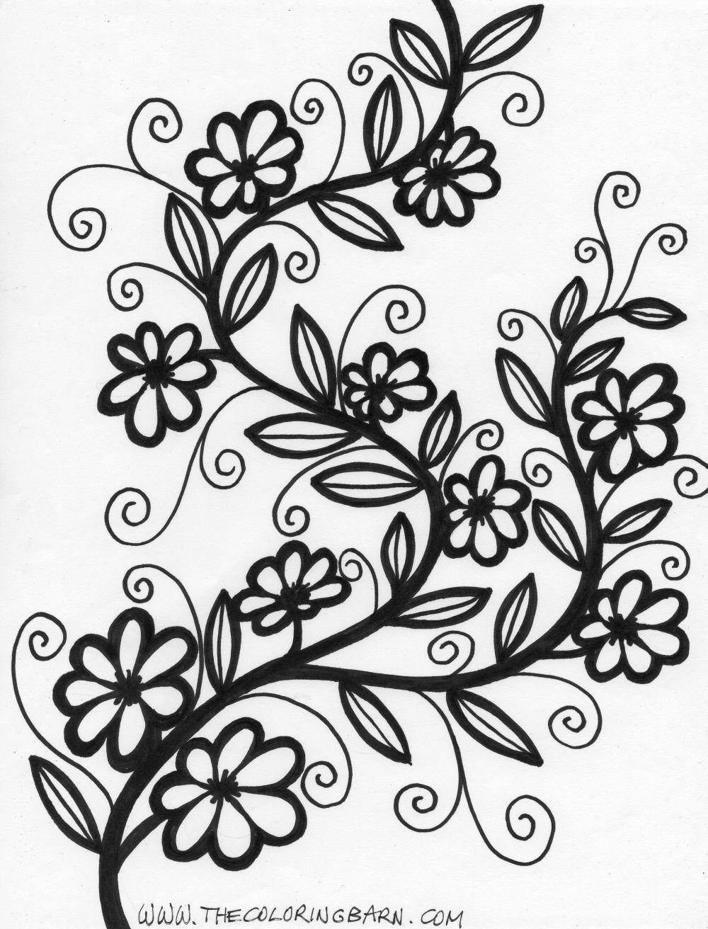 Vines coloring #16, Download drawings