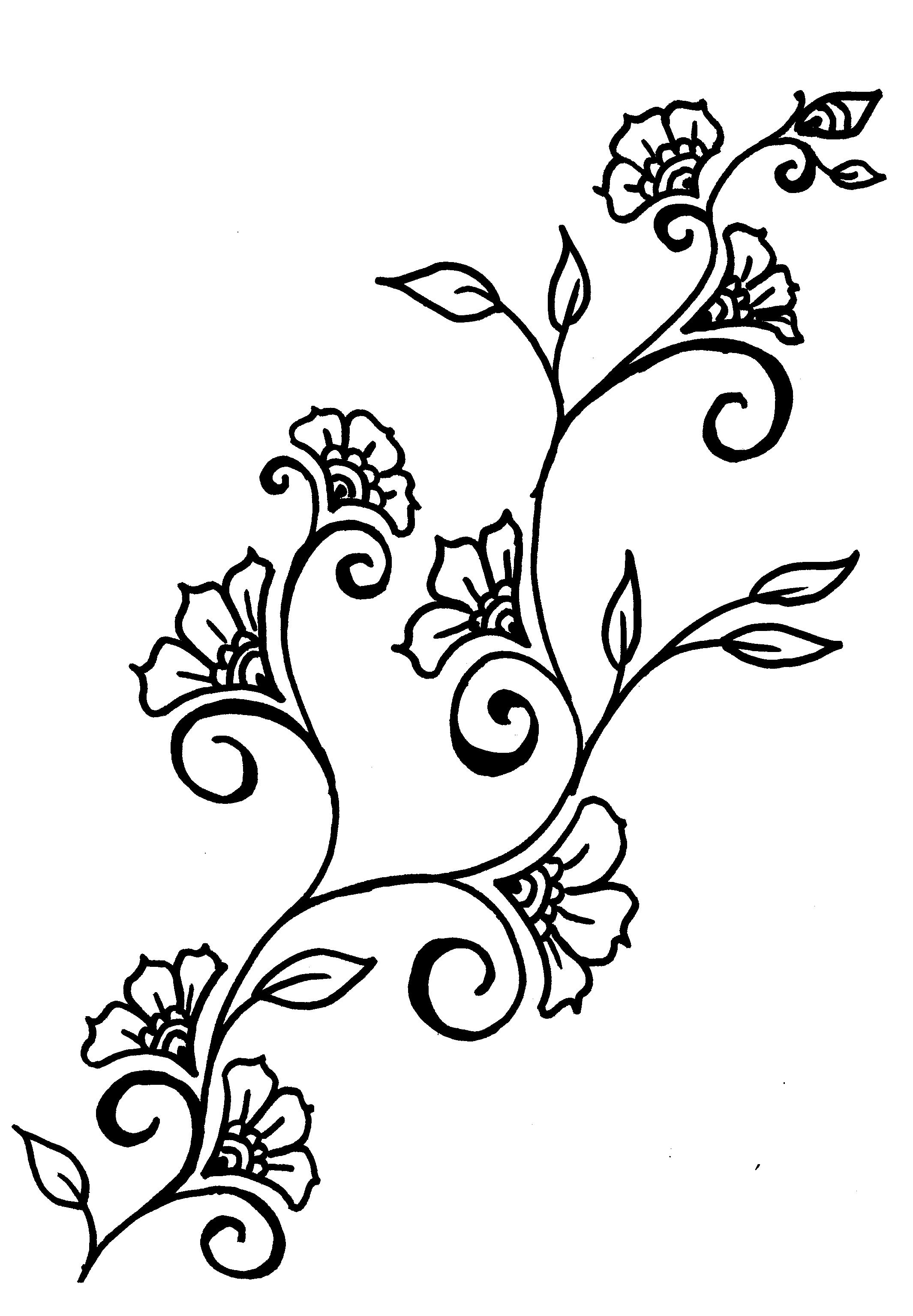 Vines coloring #17, Download drawings
