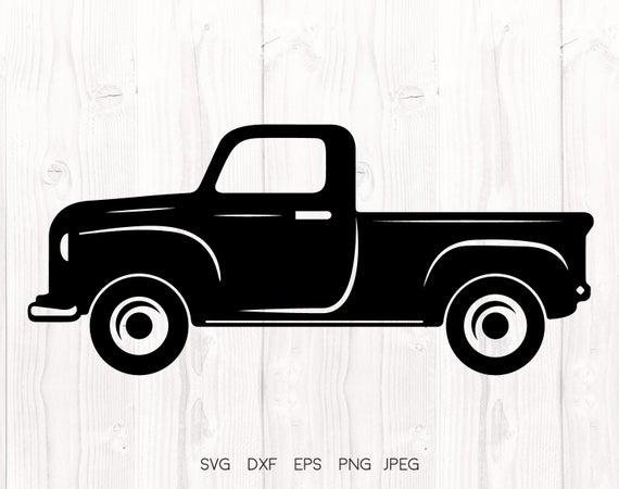 vintage truck svg #752, Download drawings