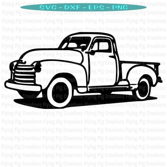 vintage truck svg #753, Download drawings