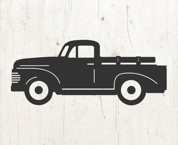 vintage truck svg #755, Download drawings