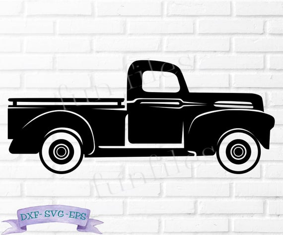 vintage truck svg #751, Download drawings