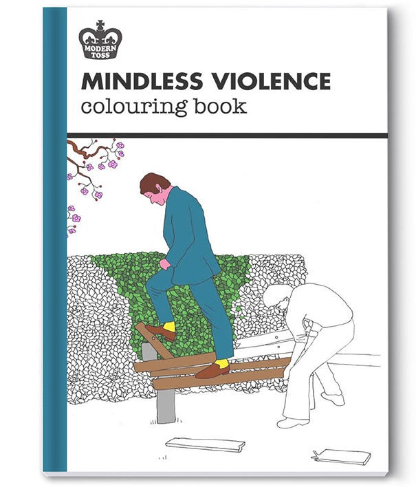 Violence coloring #12, Download drawings