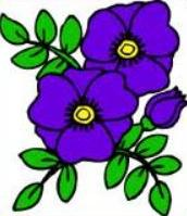 Violet clipart #19, Download drawings