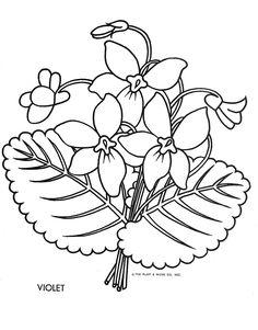 Violet coloring #8, Download drawings