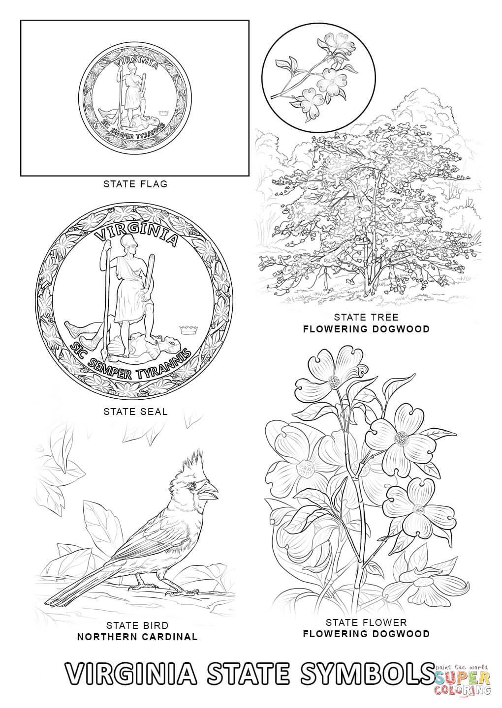 Virginia coloring #7, Download drawings