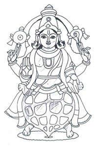 Vishnu coloring #12, Download drawings