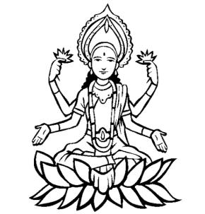 Vishnu coloring #19, Download drawings