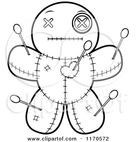 Vodoo Doll coloring #15, Download drawings