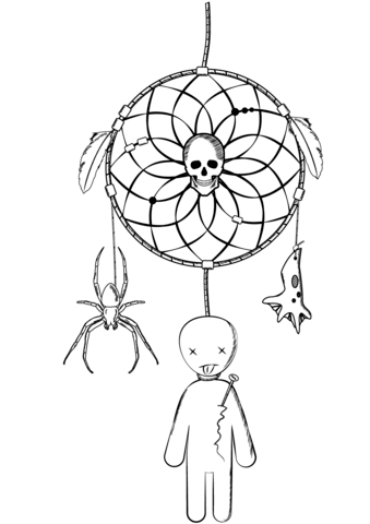 Voodoo coloring #18, Download drawings