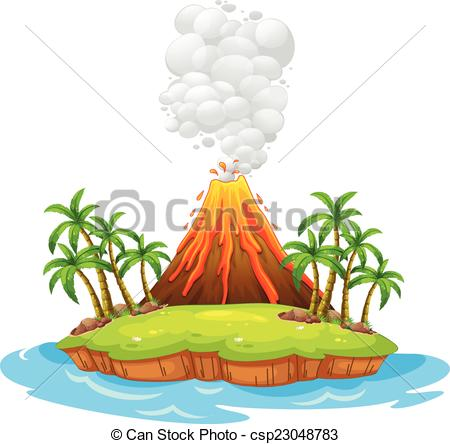 Volcano clipart #7, Download drawings