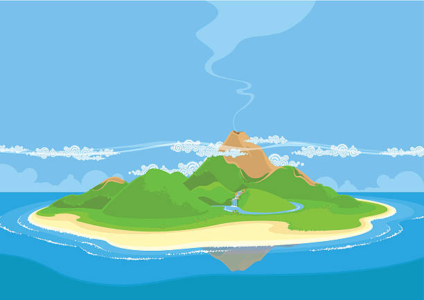 Volcanic Island clipart #10, Download drawings