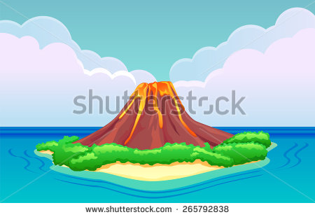 Volcanic Island clipart #12, Download drawings