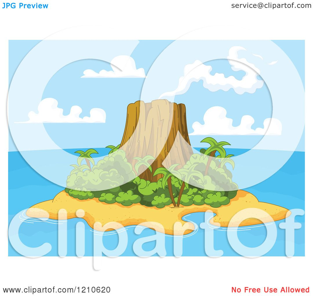 Volcanic Island clipart #3, Download drawings