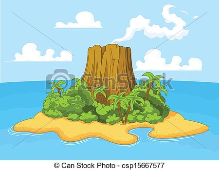 Volcanic Island clipart #5, Download drawings