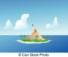 Volcanic Island clipart #18, Download drawings