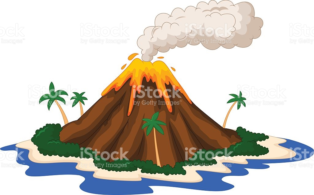 Volcanic Island clipart #2, Download drawings