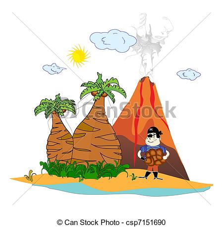 Volcanic Island clipart #4, Download drawings