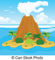Volcanic Island clipart #6, Download drawings