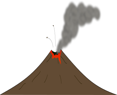 Volcano clipart #6, Download drawings