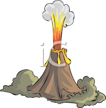 Volcano clipart #10, Download drawings
